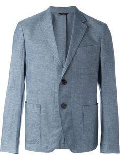FENDI Patch Pocket Blazer. #fendi #cloth #blazer