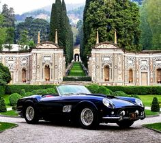 Old Ferrari, luxury great car