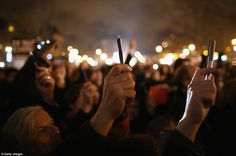 Freedom:  Demonstrations of solidarity after Charlie Hebdo attacks