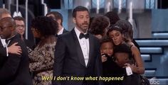 That about sums it up, Jimmy.. Till next year! | The 22 Best Moments From The 2017 Oscar Awards