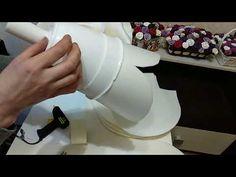 Бесплатный МК по изолоновой розе на горшке(кашпо)!Часть 1 - YouTube