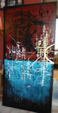 Acrylique, 24 x 48