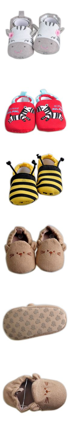 2016 Spring Girl Boy Baby Shoes Cotton First Walkers Fashion Baby Girl Shoes Animal Pattern First Sole Kids Shoes
