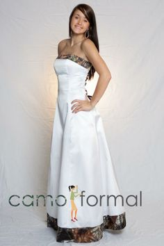 camo wedding dresses mossy oak | Mossy Oak Camouflage Wedding Dresses