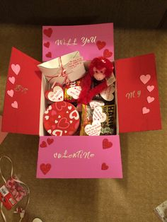 Valentine care package this year :)