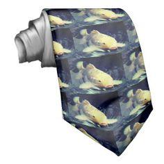 Koi Fish Custom Tie