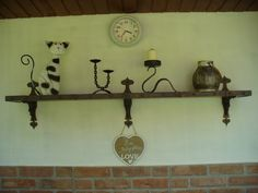 Eklektický domov : Kovaná krása IIIPřibylo mi pár nových kovaných kou...