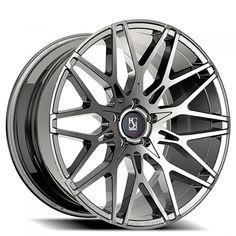 """20"""" 22"""" 24"""" Giovanna-Koko kuture Wheels Funen Chrome Rims #AudioCity"""