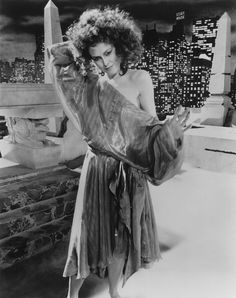 trash-fuckyou: Sigourney Weaver on the set of GHOSTBUSTERS