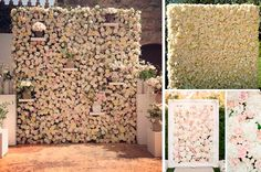 pared de flores - Buscar con Google