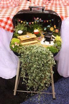 Pretty DIY Fairy Garden Outdoor Ideas 55