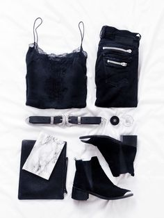 Black-Outfit-Flatlay