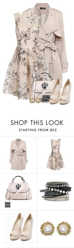"""""""Cost Conscious Attire"""" by flowerchild805 ❤ liked on Polyvore featuring Chi Chi, Relaxfeel, H&M, Nly Shoes and Kendra Scott"""