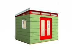 1000 images about shed homes on pinterest modern shed for Prefab work shed