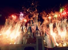 walt disney world firework show