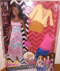 Barbie Fashionistas Doll & Fashions Boho Fringe, Tall 45(2015)