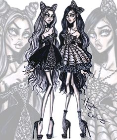 'Haunting Beauties' by Hayden Williams #HauntCouture #Halloween| Be Inspirational ❥|Mz. Manerz: Being well dressed is a beautiful form of confidence, happiness & politeness