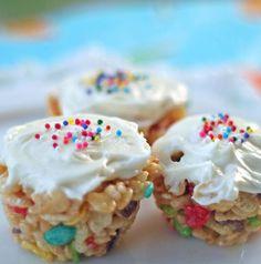 {Little Birthday Cakes}