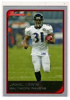 Football Trading Cards - 2006 Bowman Jamal Lewis