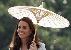Princess Parasol - Catherine Middleton