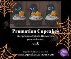 entete-promo-halloween Promotion, Wordpress, Cupcakes, Halloween, Creations, Birthday Cake, Desserts, Food, Birthday Cakes