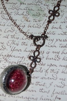 Remembrall Deluxe by behindthecellardoor on Etsy Harry Potter Ornaments, Hogwarts, Charms, Sparkle, Gems, Necklaces, Pendant Necklace, Unique Jewelry, Handmade Gifts