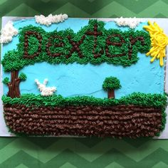 Terraria Birthday Cake