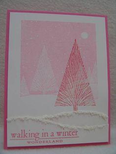CC398 Winter Wonderland by suen - Cards and Paper Crafts at Splitcoaststampers