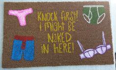Naked Underwear Doormat ($35) - Provided by PopSugar
