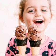 ICE, ICE BABY | Know a fussy eater or two? So does @bettinas_kitchen 👌🏽 She whipped up this delicious SUPER ELIXIR KIDS 'nice' cream for her fussy little monkey 🐒 To make blitz and freeze frozen banana, organic maple syrup, milk of choice and one scoop SUPER KIDS Chocolate Nourishing Protein. Drizzle ice cream cones with melted coconut oil and a dash of Protein 🍦Shipping hourly to your door from welleco.com ✈️