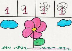 El uno: Una flor