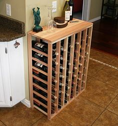 Best Wine Rack   Creekside 48 Bottle Table Wine Rack Redwood by Creekside  Exclusive 12 inch deep design conceals entire wine bottles Handsanded to perfection Redwood ** Read more  at the image link. Note:It is Affiliate Link to Amazon.
