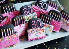 Bake at 350: Chocolate Peanut Butter Cut-out Cookies...and a very special birthday!
