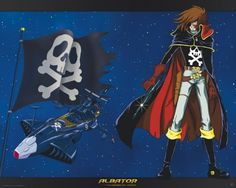 Poster affiche Albator 78 Space Pirate