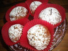 mini apples baked in a chocolat cinnamon dough Mini-Äpfel im Schokoladen-Zimt-Mantel Mini Apple, Baked Apples, Cinnamon, Muffin, Baking, Breakfast, Desserts, Food, Apple