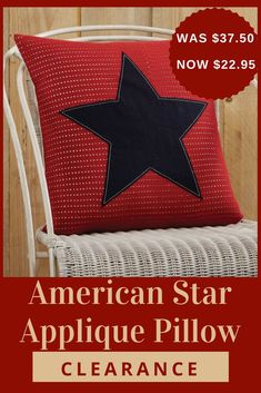 FARMHOUSE COUNTRY PRIMITIVE BURLAP STAR APPLIQUE WOVEN THROW 50X60