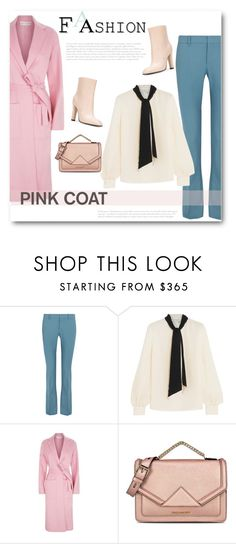 """""""Hey, Girl: Pretty Pink Coats"""" by bliznec ❤ liked on Polyvore featuring Gucci, Lanvin, R/R Studio, Karl Lagerfeld, Agnona, polyvoreeditorial, polyvorecontest and pinkcoat"""