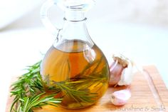 Infused Olive Oil (you've seen the prices... so easy to make it yourself!)