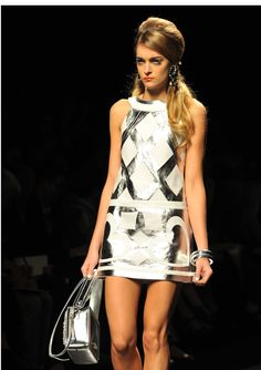 Runway Moschino Spring Summer 2013 Women Collection Milano Fashion Week