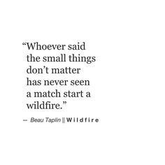 Beau Taplin | Wildfire