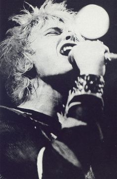 Generation X Billy Idol, Feeling Magazine, 1978