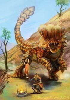 Monster Art, Monster Concept Art, Fantasy Monster, Monster Design, Alien Creatures, Magical Creatures, Fantasy Creatures, Monster Hunter 3rd, Monster Hunter Series