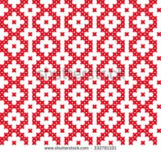 Ornamental Pattern for Knitting and Embroidery Heart Images, Stock Photos & Vectors Slavic seamless pattern ornament cross stitch. Pattern with hearts. Winter knitted pattern - stock vector Always wanted . Tapestry Crochet Patterns, Fair Isle Knitting Patterns, Knitting Charts, Knitting Stitches, Pixel Crochet, Crochet Chart, Crochet Motif, Embroidery Hearts, Cross Stitch Embroidery