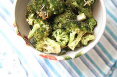 Easy Roasted Broccoli recipe #vegetables #sidedish