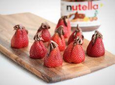 stuf strawberri, sweet treats