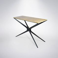 """Marble Top """"Gazelle"""" Console Table at 1stdibs"""