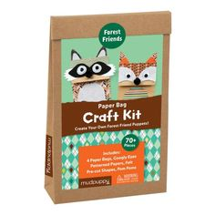 Forest Friends Paper Bag Craft Kit