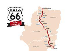 ¿Cuál sería la Ruta 66 aragonesa?