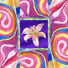 Irina Sztukowski - Festive Floral Tiger Lily