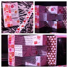 Tarjeta de cumplea os para mi novio hecha por mi misma - Regalos de san valentin para el ...
